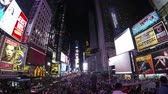 vezes : Times Square at Night, New York, Timelapse