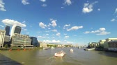 atrações : Timelapse view of London city with river Thames and Tower Bridge