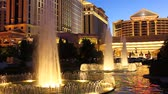 upscale : Las Vegas, USA - May 22, 2012: Caesars Palace is a large hotel and casino that opened in the 1960s in Las Vegas.  The buildings and decorations have a Roman Empire theme.
