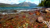 Lake McDonald at Glacier National Park in Montana