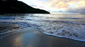 Virgin Islands Beach Sunset Tortola Stock Footage