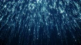 inspiradora : Particles blue bokeh dust abstract light motion titles cinematic background loop