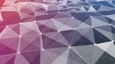 cristalino : Abstract low poly style looped background. 3d seamless animation Modern gradient colors. 14 Vídeos