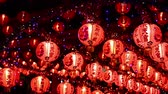 pequim : Chinese new year lanterns in chinatown,Thailand