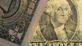 Close up of a US dollar bill