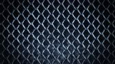 contro : Metal Fence su uno sfondo scuro, Wire Mesh CG Animation, Loop, Filmati Stock