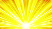 radial : Cartoon beam animation. Shiny sun background. Sunburst rays in heaven. Abstract loop design.