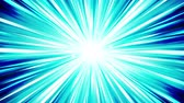 radial : Starburst rays in space. Cartoon beam loop animation. Future technology concept background. Explosion star with lines.