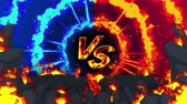 enemy : Cartoon fire animation. Flame the loop background. Competition. Battle game.