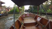January 30, 2012 Thailand. River Kwai. Tour for tourists on the river. Travel