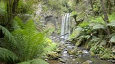 de faia : Dolly shot of the Hopetoun Falls in Victoria, Australia