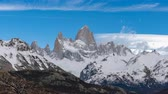 andy : 4k timelapse video of Monte Fitz Roy at Los Glaciares National Park in Argentina