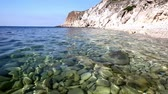 cristal : Sea landscape with cristal water Stock Footage