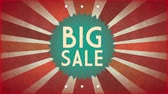 hvězda : Big sale background, Video Animation HD1080