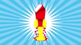 círculo : Rocket icon desing, Video Animation HD1080 Vídeos