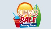 spruchband : Summer sale desing, Video Animation HD1080 Stock Footage