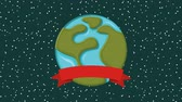 globo : earth planet background design, Video Animation