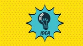 thinking : Big idea icon, Video Animation