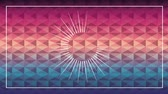 abstrato : Colors and light geometric background, Video Animation
