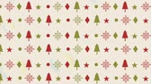 uitnodiging : happy merry christmas pattern background ,hd video animation