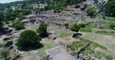 ephesus : Labranda Ancient City In Turkey Stock Footage