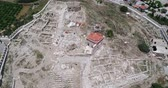 ephesus : Aerial View of Historical Places - Saint John Church Basilica