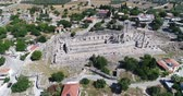 ephesus : Aerial View of Historical Places - Aerial of the Temple of Apollo at Didyma