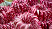 lolipop : candy canes for sale in Christmas store