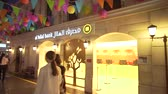 kidzania : Dubai, UAE - April 08, 2018: KidZania Dubai provides children and their parents a safe and very realistic educational environment at Dubai Mall stock footage video Stock Footage