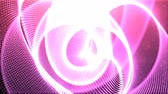 galaxy : 4k Intro pink knot Particle seamless background
