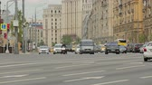 ring road : Moscow car traffic in summer