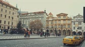 modernism : Prague, Czech Republic - December 24, 2016: Architecture values and the streets of Prague
