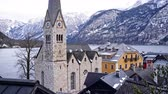 campanário : Church in Bad Goisern am Hallstattersee, Austria