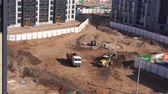 habitação : General view of the construction site of a residential area in the city