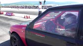 compêndio : Sport car drag challenge at race track Kondofrey in Bulgaria