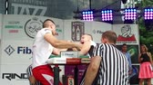 duality : Armfight arm wrestling fight at slow motion