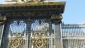 ストリート : The front entrance door of the Palais de Justice in Paris, France in sunny summer day - architecture background