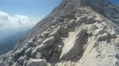góral : Mountaineer pov to expedition climbing to Triglav rocky summit on Julian Alps mountain range