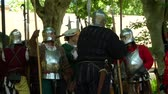 nobre : Renaissance army marching to battle during Verona Rinascimentale reenactment on May 24, 2014 in Verona, Italy