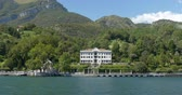 Villa Carlotta in Tremezzo, a museum and botanical gardens.at Como Lake, Italy Wideo