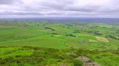 celta : panoramic view from Slemish Mountain known as Irish home of Saint Patrick, County Antrim, Northern Ireland, UK