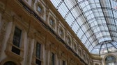 interior : Galleria Vittorio Emanuele II is one of worlds oldest shopping malls. Housed within four-story double arcade in Milan, Galleria is named after Vittorio Emanuele II, first king of Kingdom of Italy.
