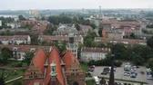 roof : Gdansk bird-eye view. Gdansk Danzig is a Polish city on the Baltic coast, capital of the Pomeranian Voivodeship, principal seaport in Poland and centre of country fourth-largest metropolitan area
