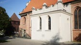 bishop : The Church of St. Adalbert or the Church of St. Wojciech in Poznan, Poland, was constructed in 15th century. It was the one of only two Polish churches under the Nazis (1939–1944). Stock Footage