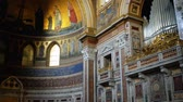 bishop : ROME, ITALY - JANUARY 23 2015: Papal Archbasilica of St. John in Lateran or just The Lateran Basilica, is cathedral church of Rome and official episcopal seat of Bishop of Rome, the Roman Pontiff.