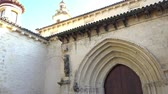 santa magdalena : Santa Maria Magdalena (St Mary Magdalene Church) is church in Cordoba, Andalusia, Spain, built Fernando III in Mudejar style Stock Footage