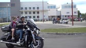 vinha : BREST, BELARUS - MAY 27 2017: Brest Bike Festival International. Riding guests on motorcycles.