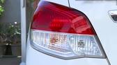 背面図 : Rear light car, alarm signal