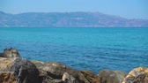 Крит : Sea and Crete island at daytime, Greece