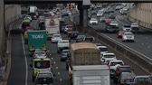 queensland : The M1 Motorway is at full capacity as motorists experiance delays from congestion on Queenslands busiest road